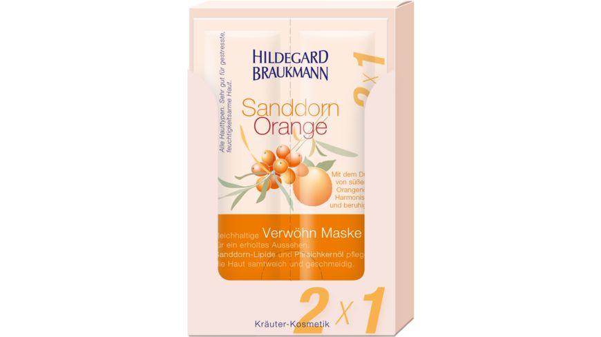 HILDEGARD BRAUKMANN Sanddorn Orange Verwoehn Maske