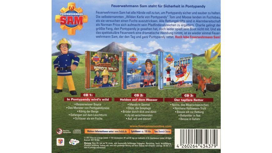 Feuerwehrmann Sam Hoerspiel Box 4