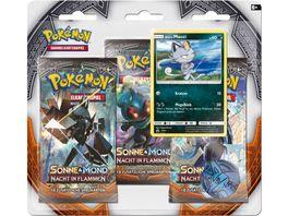 Pokemon Sammelkartenspiel Sonne Mond 03 Blister 3 er Pack
