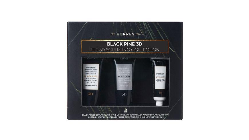 KORRES Black Pine 3D Mini Trio Set