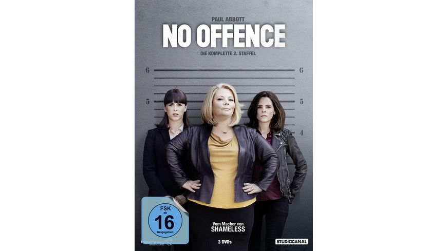 No Offence Staffel 2 3 DVDs