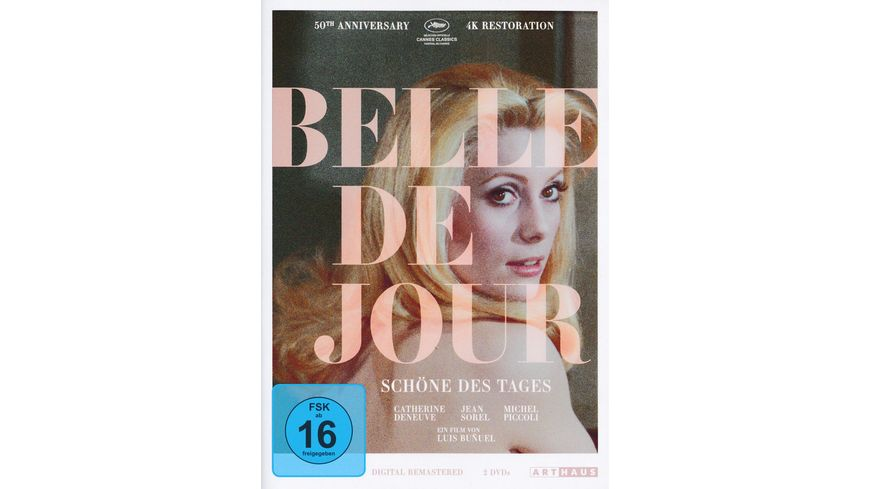 Belle de Jour Schoene des Tages 50th Anniversary Edition 2 DVDs