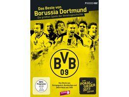 Das Beste von Borussia Dortmund Die groessten Spiele der Vereinsgeschichte DFB Pokal 2017 Edition 7 DVDs