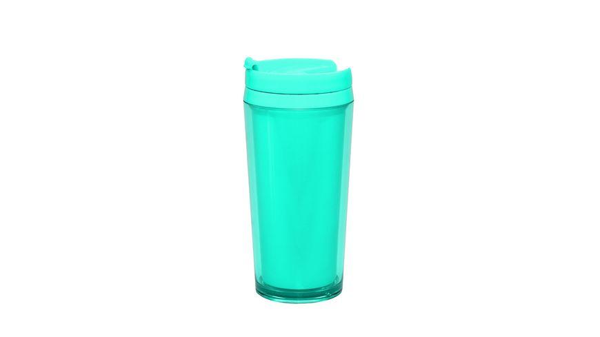 zak Thermobecher aqua blau 400 ml
