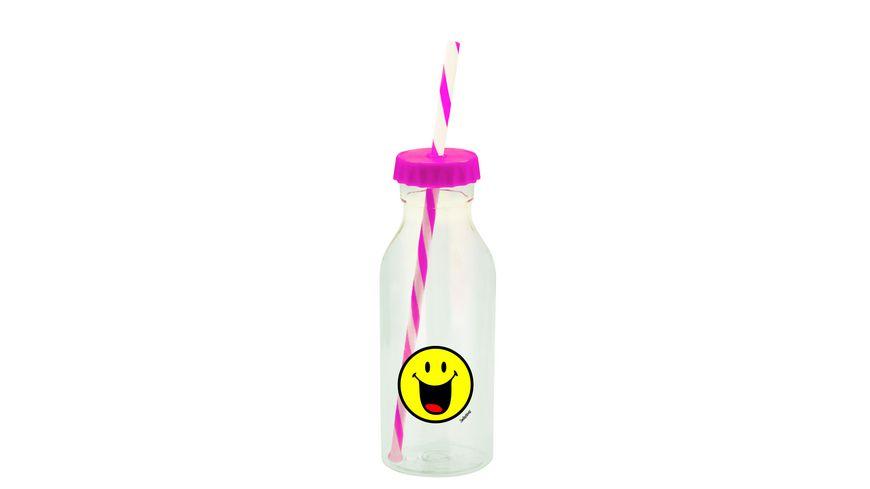 zak Sodaflasche Smiley Froehlich 550 ml