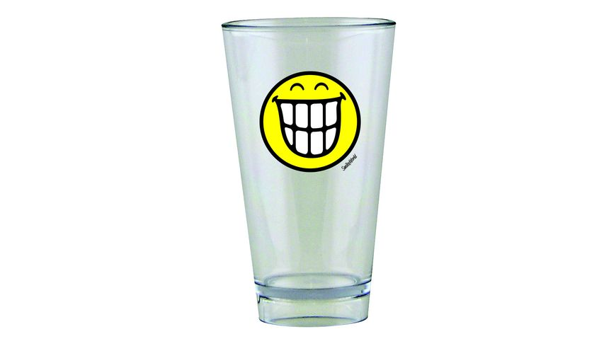 zak Glas Smiley Zaehne 300 ml