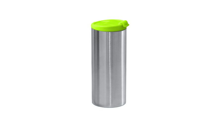 zak Edelstahl Vakuumflasche doppelwandig gruen 350 ml