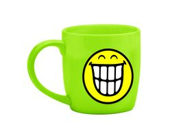 zak Tee Tasse Smiley Zaehne gruen 350 ml