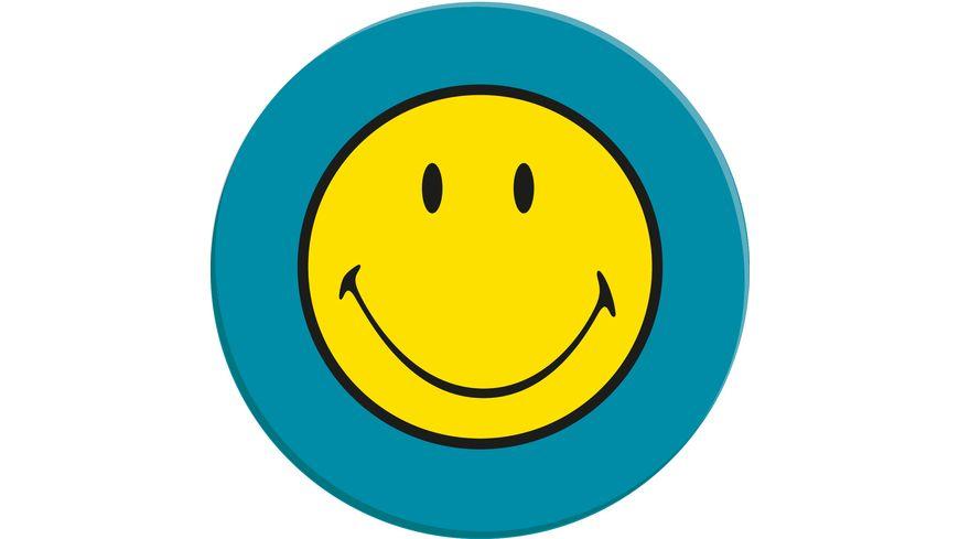 zak Salatteller Smiley aqua blau