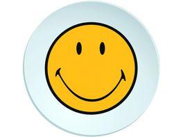 zak Speiseteller Smiley weiss