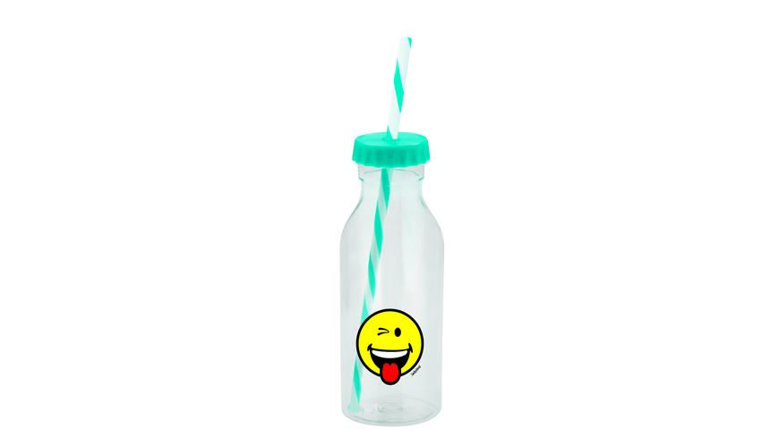 zak Sodaflasche Smiley Zwinkern 550 ml