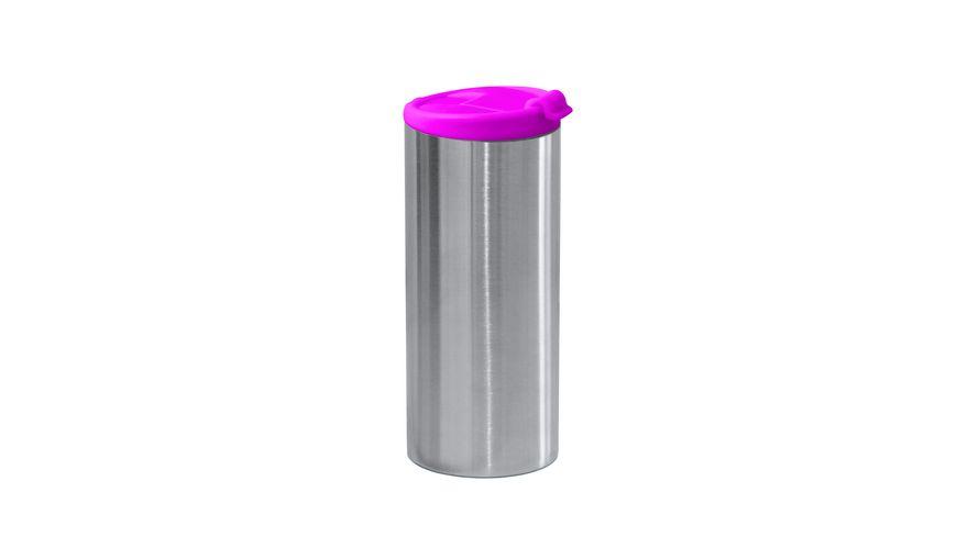 zak Edelstahl Vakuumflasche doppelwandig fuchsia 350 ml