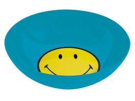 zak Fruehstuecksset Smiley aqua blau