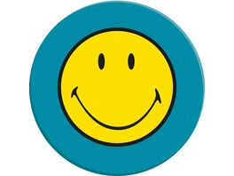 zak Speiseteller Smiley aqua blau