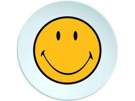 zak Salatteller Smiley weiss