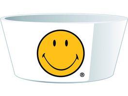 zak Mueslischale Smiley gelb weiss