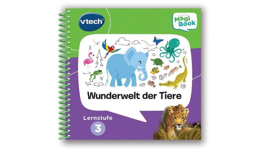 VTech MagiBook Lernstufe 3 Wunderwelt der Tiere