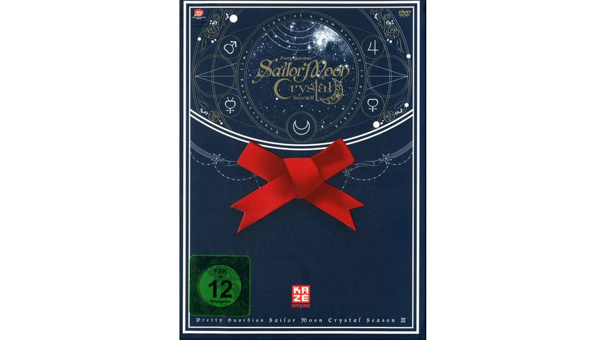 Sailor Moon Crystal Vol 5 Limited Edition Sammelschuber 2 DVDs