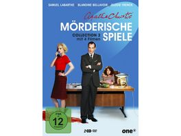 Agatha Christie Moerderische Spiele Collection 2 2 DVDs