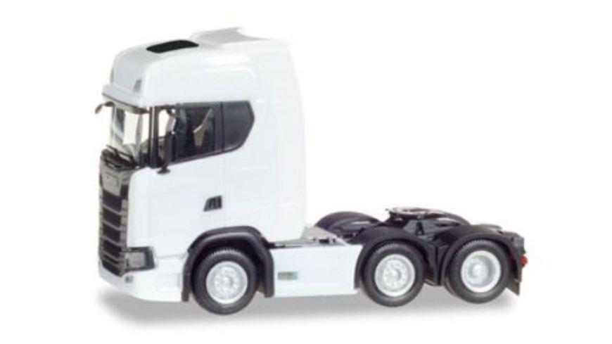 Herpa 307543 Scania CS 20 HD 6x2 Zugmaschine weiss