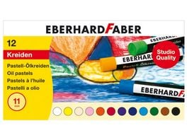 EBERHARD FABER Pastell Oelkreide im 12er Kartonetui