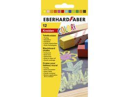 EBERHARD FABER Tafelkreide farbig sortiert