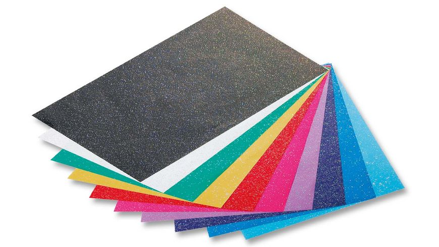 folia Glitterpapier 70g m