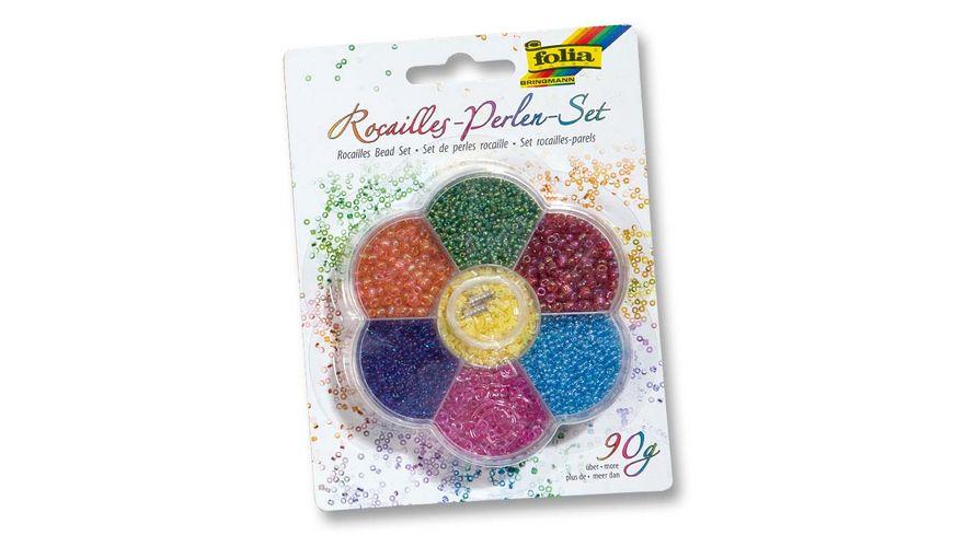 folia Rocailles Perlen Set