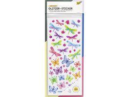 folia Glitzer Sticker Dekozauber