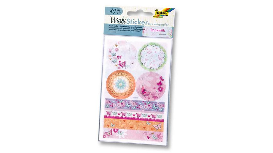 folia Washi Sticker ROMANTIK