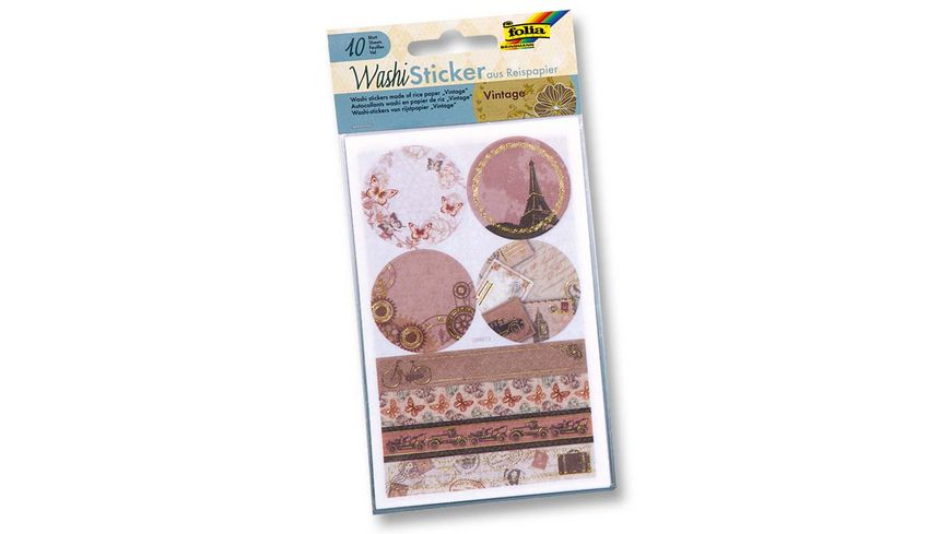 folia Washi Sticker VINTAGE