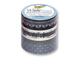 folia Washi Tape Melodie 4er Set