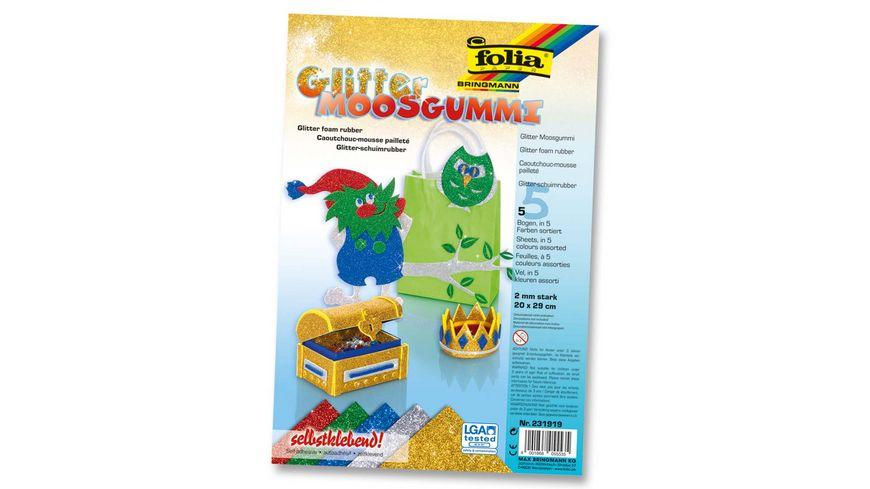 folia Glitter Moosgummi