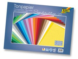 folia Tonpapier 25 Boegen 35 x 50 cm
