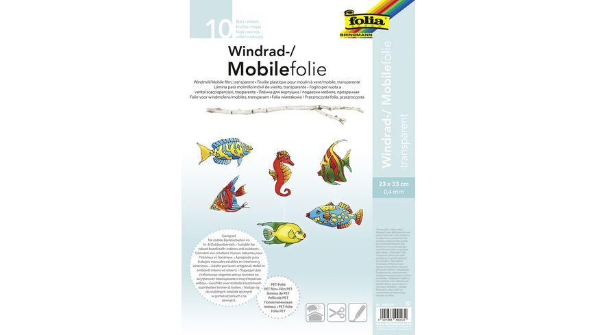 folia Mobilefolie 10 Blatt 23 x 33 cm