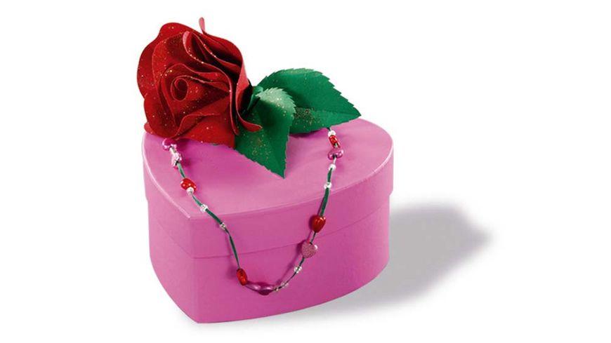 folia Geschenkboxen Herz 12 Stueck