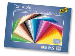 folia Tonpapier 50 Boegen 35 x 50 cm