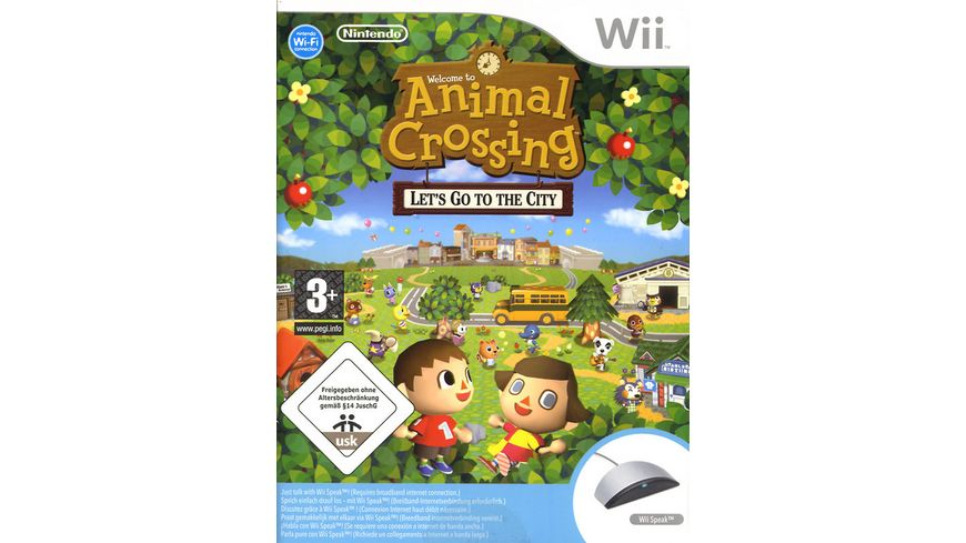 Animal Crossing Wii Speak