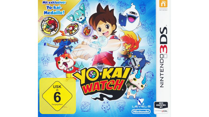 Yo Kai Watch Special Edition inkl Medaille