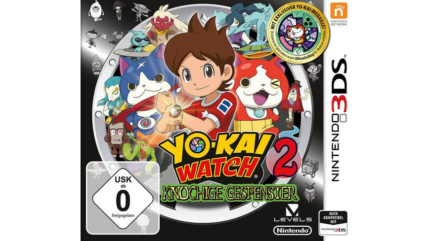 Yo Kai Watch 2 Knochige Gespenster