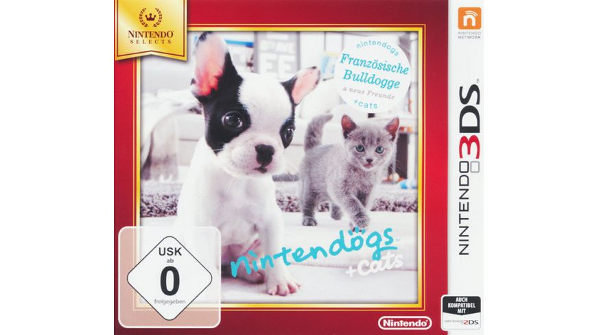 Nintendogs Cats Franzoesische Bulldogge