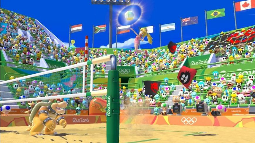 Mario Sonic bei den Olympischen Sp Rio 2016