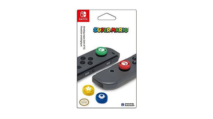 Nintendo Switch Analog Stick Caps Super Mario