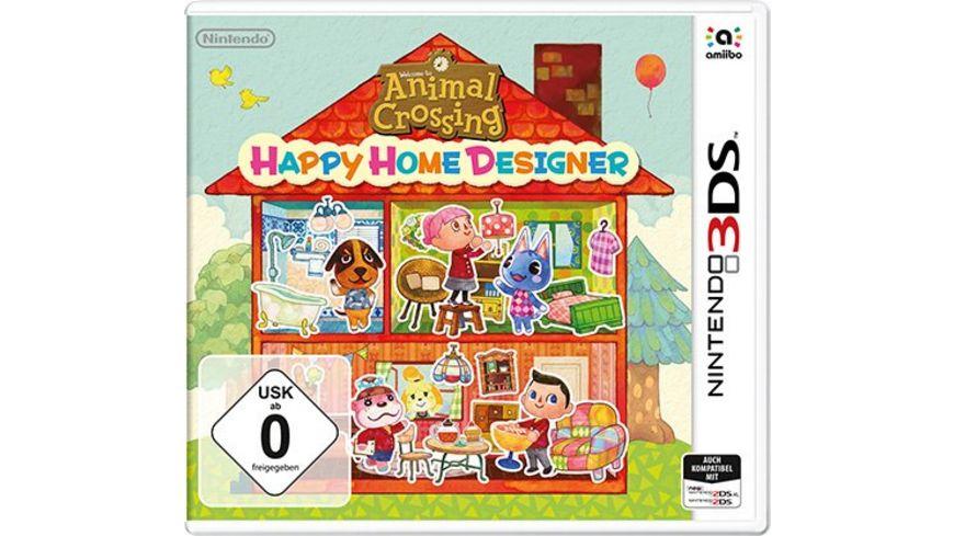 Animal Crossing Happy Home Designer Online Bestellen Muller