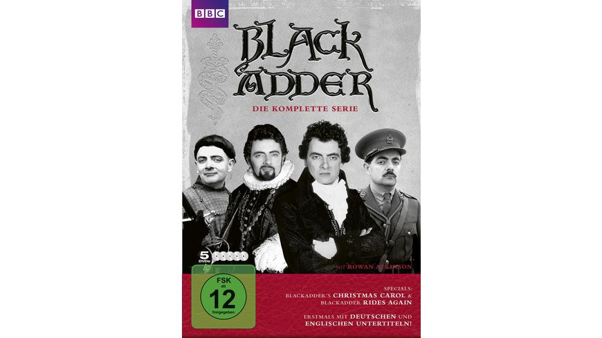 Blackadder 5 DVDs