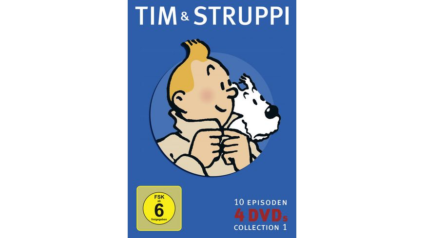 Tim Struppi Collection 1 4 DVDs