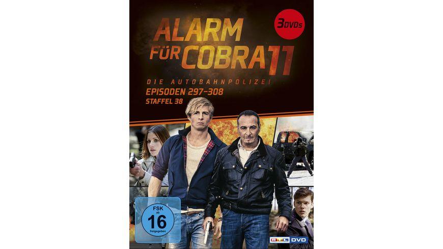 Alarm fuer Cobra 11 Staffel 38 3 DVDs