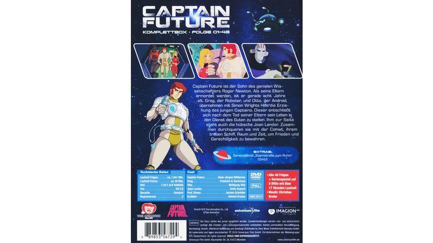 Captain Future Komplettbox 8 DVDs