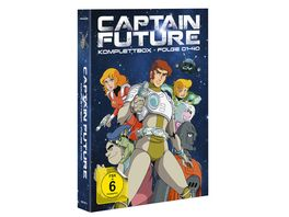 Captain Future Komplettbox 8 DVDs