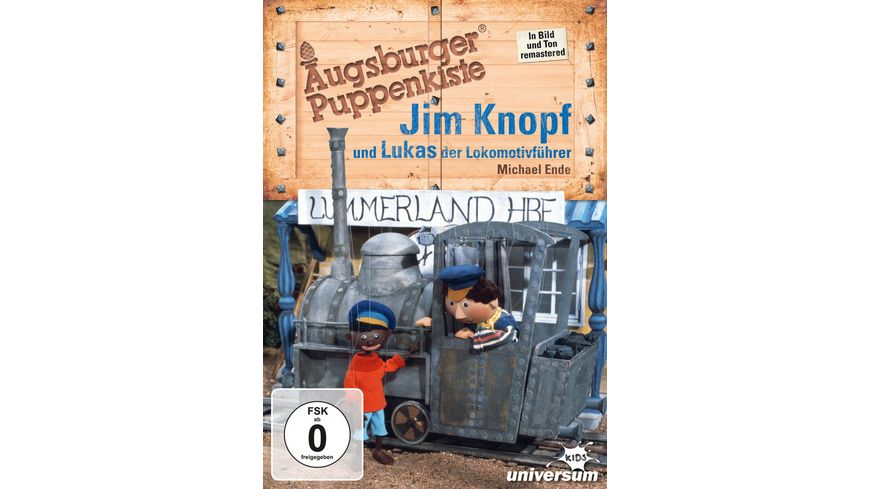 Jim Knopf und Lukas der Lokomotivfuehrer Augsburger Puppenkiste